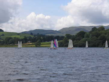 the fleet at Bala 2008