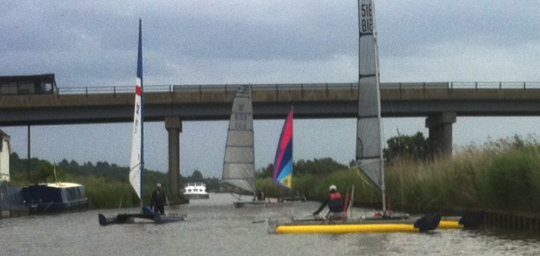 catamarans sail the broads