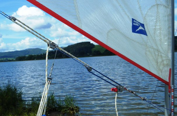 catamaran rigging sail control